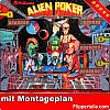 "Flipperautomat Williams - Flippergummi-Set ""Alien Poker"""